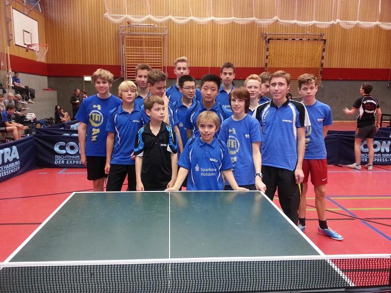 Fünfzehn Teilnehmer kämpften um die Teilnahme zur Hamburger Meisterschaft der Jugendklasse