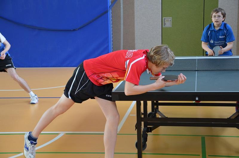 Neuer Vereinsranglistensieger der Jungen - Marten Stange (2001)