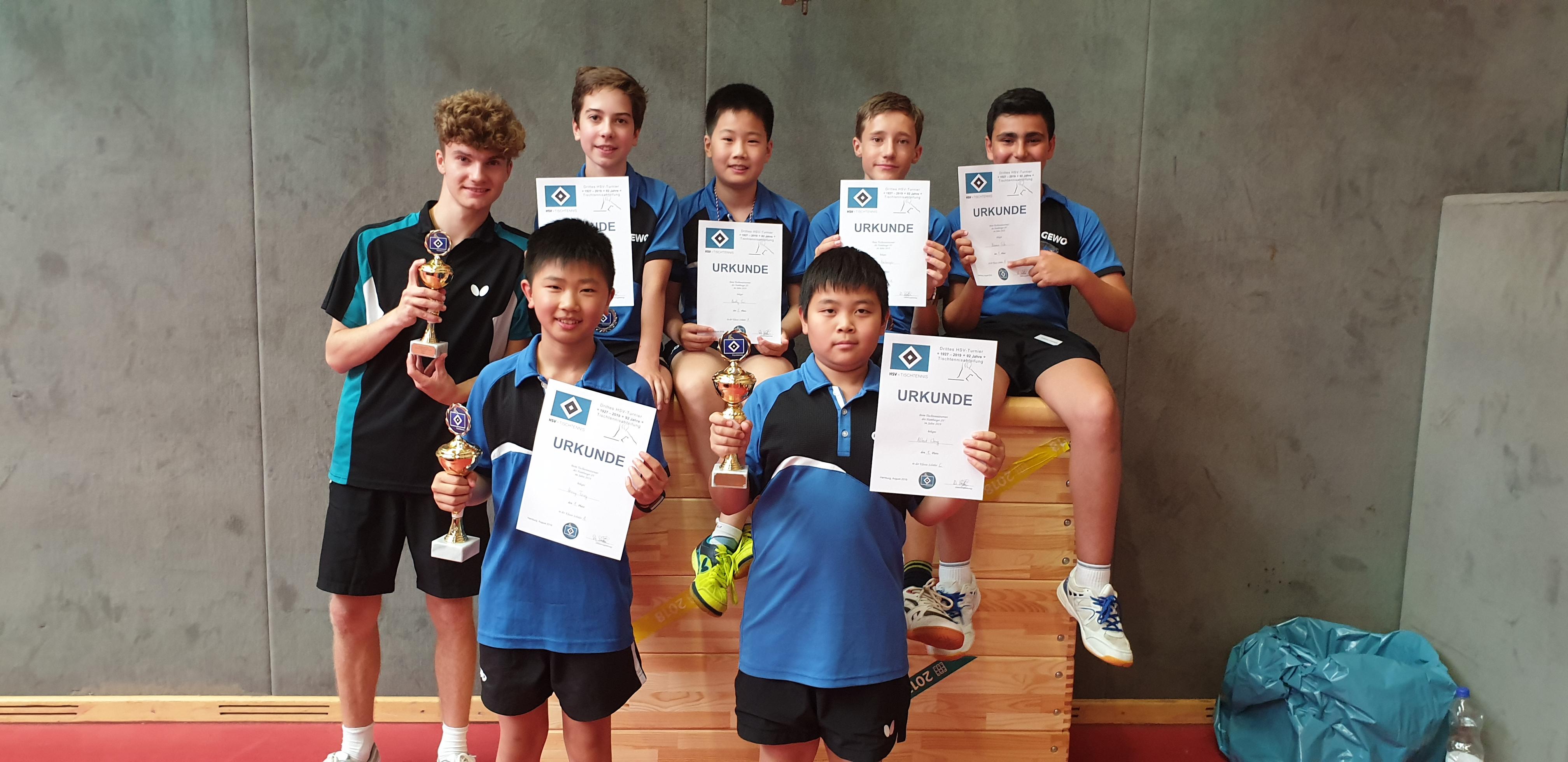 Erfolgreich beim HSV-Jugend-Turnier